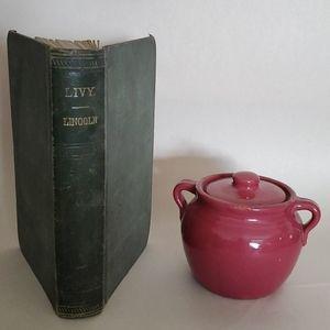 Livy Lincoln vintage Green Book 1847 Titus Livius